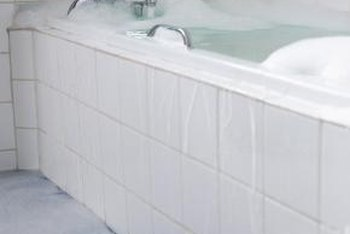 Exposure to water makes bathtubs prone to mold and mildew.