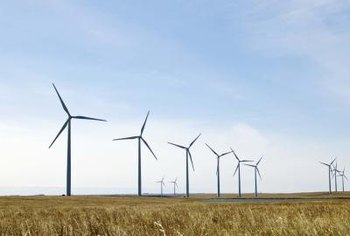 The best locations for wind farms are plains, small hills, offshore sites and mountain passes that funnel wind.