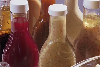 Most low-sugar versions of commercial salad dressings are acceptable on the Atkins Diet.