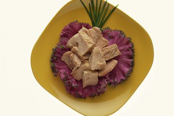Albacore tuna contains omega-3 fatty acids.