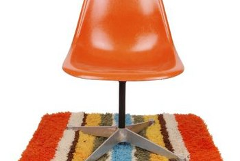 The 1970s saw the introduction of plastic furniture in bold, bright colors.