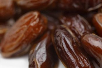 Dates are naturally high in sugar, fiber, vitamins and minerals.