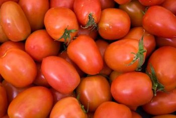 Paste tomatoes have thicker skins than most slicing tomatoes.