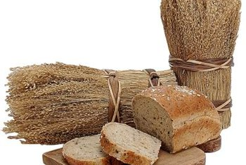 Gluten gives bread a soft, elastic quality.