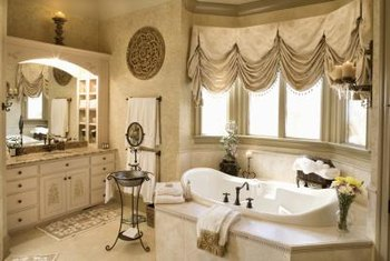Use color to create the right environment for each bathroom in your home.