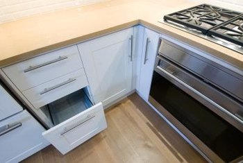 Kitchen cabinet drawer slides should be durable and still glide easily.