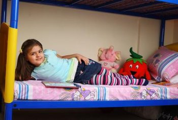 Decorate bunk beds showcase your child's personality.