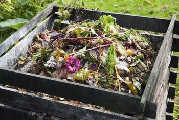 A successful compost pile for homemade fertilizer needs the right mix of green and brown organic matter.