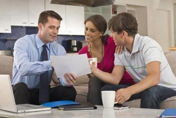 Have all your paperwork together before meeting with the lender.