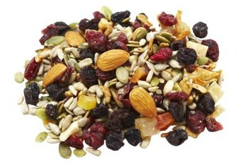 Nuts and seeds can boost your daily caloric intake and help to remedy feelings of dizziness.