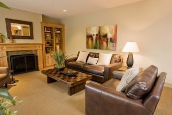 living room furniture in a rectangular room narrow can be functional - Rectangular Living Room