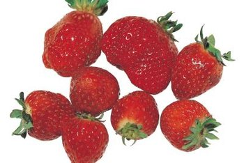 One cup of whole strawberries contains 85 milligrams of vitamin C.
