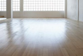 You should sand unfinished maple flooring before installation.