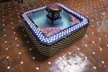 Cobalt Blue is a prized color in Talavera tile design.