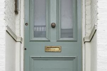 East-facing front doors in most shades of green bring good energy into the home & Feng Shui Tips to Paint a Front Door Facing East | Home Guides ... pezcame.com