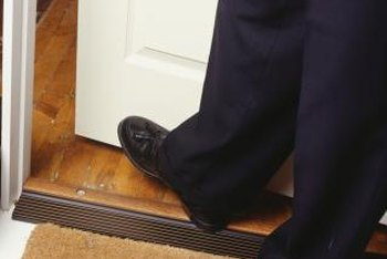 Clean your doormat regularly to prevent tracking in dirt.