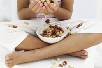 Nuts are a great source of essential fatty acids for young girls.