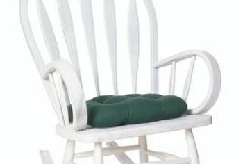 Elegant A Cushion Makes Any Rocker More Comfortable.