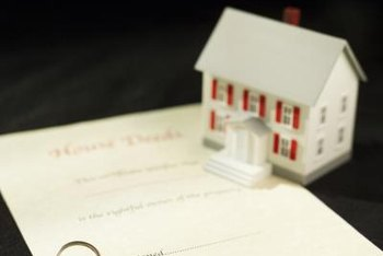 FHA accepts quit claim deeds on a home due to divorce or will.