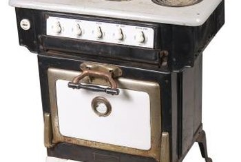 Antique stoves can also be refinished using this method.