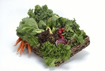 Fruits and vegetables contain insoluble fiber.