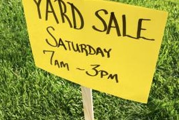 Sell your old dehumidifier at a yard sale.
