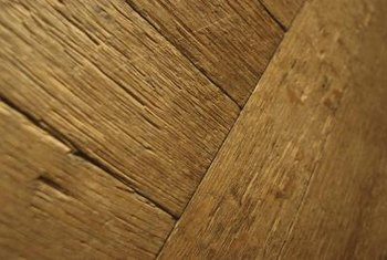 Older hardwood floors need to be refinished from time to time.