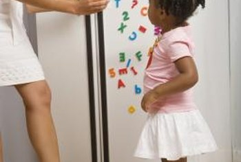 Childproof refrigerator doors to keep your child safe.