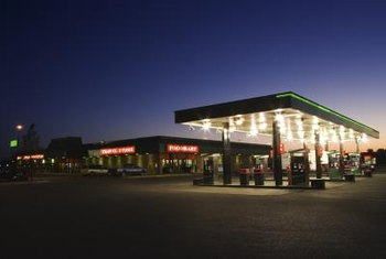 Gas stations often are financed through a sale leaseback.