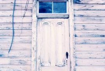 Restoring an old, well-used door may turn it into a treasure.