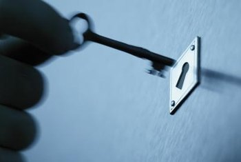 Door locks are simple to clean and restore to working condition.