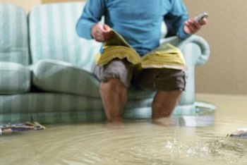 Remove standing water as soon as possible to reduce damage.