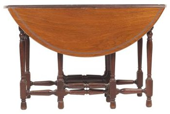 A Classic Drop Leaf Table With Gate Legs Is Versatile.