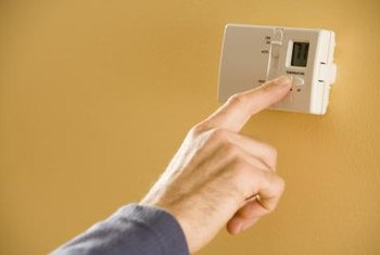 The thermostat is your first stop when troubleshooting an air conditioner.