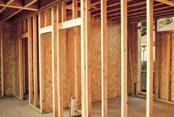 Plywood is used in wall and floor settings, and needs to be protected against moisture.