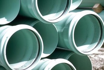Drainage pipes come in many sizes; choose a bigger size if you can.