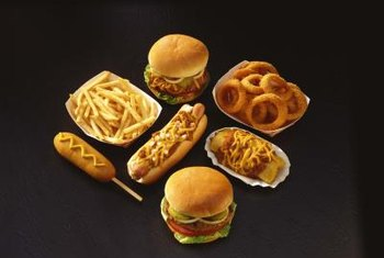 Junk food is risky for PCOS sufferers.