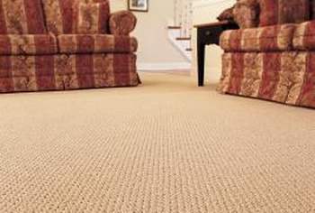 Carpet grippers provide a secure base to attach the edges of the carpet, which helps to maintain tension.