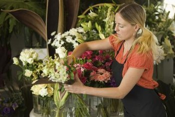 Line, line-mass and mass flower arranging form the foundation of most floral design styles.