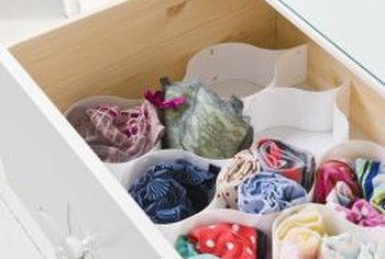 Help prevent spilling a drawer with drawer stops.