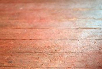 Shellac floor finishes aren't as common as they once were.