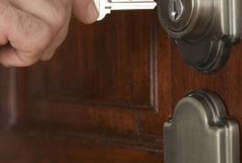 Upgrading Your Lock Could Require Drilling New Holes In Your Door.