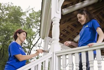 Consider giving your gazebo a new coat of paint, if it needs it.