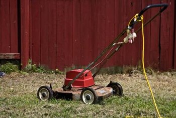 Electric lawn mowers are corded or cordless.