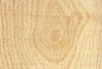 Sanding against the grain of the wood can cause deep scratches.