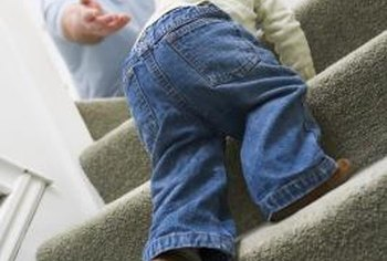 Prevent fraying edges when you install stair carpet.