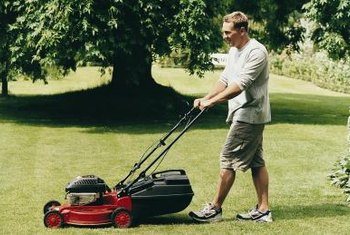 Improper mower operation is a likely reason for high areas.
