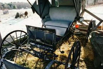 The Amish avoid many modern conveniences.