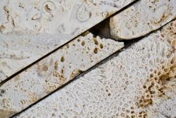 You can repair damaged limestone by following a few simple steps.