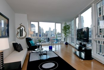 A Furnished Apartment Benefits Tenants Who Lack Material Possessions.